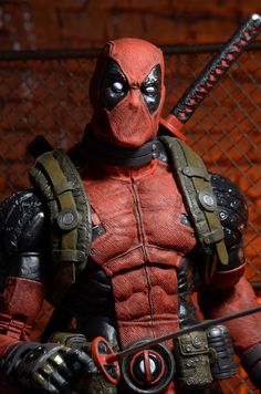 NECA's 18-Inch Deadpool Action Figure Is Only Missing One Thing