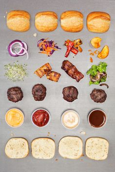 THROW A SLIDERS PARTY! - D E S I G N L O V E F E S T  @Christine this is something we should do someday when we live near each other again (turkey, veggie & portobello?)