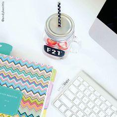 Comece o dia planejando e descubra o prazer de uma vida mais organizada... #meudailyplanner #dailyplanner #planning #organização #plannernerd