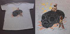 Black Onix Crystal Skull by Mrglaubitz on Etsy, $25.00