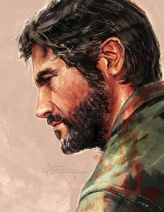 The Last of Us - Joel by Alice X. Zhang * - Her art is AMAZING.