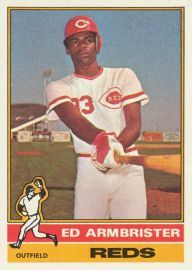 Ed Armbrister - Outfielder  AB 65  HR 0  BA .185  OBP .254  SLG .200  OPS .454