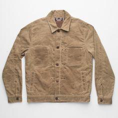 Freenote Cloth | Waxed Riders Jacket - Tobacco | SZ: L