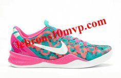 44b5cd9fd265 Nike Kobe 8 Year of the Snake South Beach Teal Pink Pure Platinum Nike  Tights