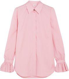 Paul & Joe - Ealiette Crystal-embellished Cotton Shirt - Pink