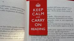 Keep calm and carry on reading! (bookmark) ♡