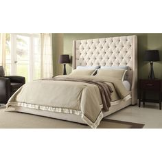 Found it at Wayfair - Park Ave Upholstered Bed