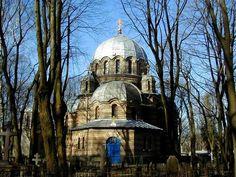 Riga Orthodox Church Cemetery Pokrov, Latvia. By J. Sedols