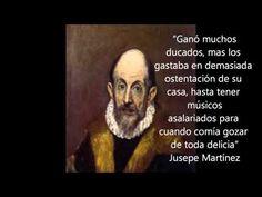 """El Greco """"Un cavaller del Renaixement"""" - Inici"""