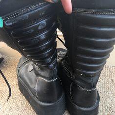 d88d07de6ec0 Amazing Swear 90s Platform Boots In amazing condition. No a - Depop