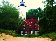 """""Lighthouse on Presque Isle"""" by Michael Shively, via 500px."