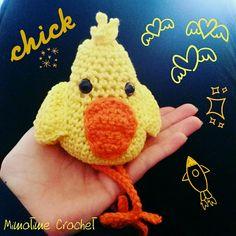 Petit poussin au crochet #crochet #paques #chick #easter