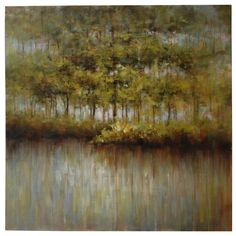 """Spring Forest (40""""x40"""") #Canvas #Art $299.95"""