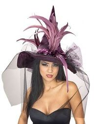 a bicycle built for two: Homemade Witch Hat