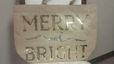 Christmas Tote Mudpie Christmas, Mud Pie, Reusable Tote Bags