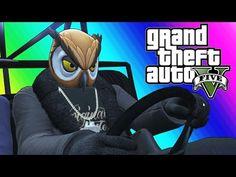 GTA 5 Online Funny Moments - Epic Rocket Car Stunts! - YouTube