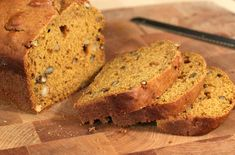 Full of flavor and easy to make, pumpkin quick bread is a good bake-ahead choice for the holiday season. >> http://www.hgtvgardens.com/recipes/pumpkin-recipes?soc=pinterest&s=1