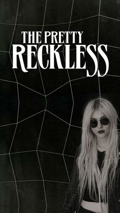 A blank wallpaper for The Pretty Reckless (made it myself)