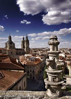Salamanca, España: home of one of the oldest universities in the world. Thoroughly enjoyed visiting there. It was where I first ate paella, a favorite dish.