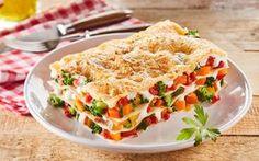 ΛΑΖΑΝΙΑ ΛΑΧΑΝΙΚΑ Vegetable Lasagna Recipes, Easy Lasagna Recipe, Spanakopita, Light Recipes, Pasta Salad, Easy Meals, Healthy Recipes, Dishes, Vegetables