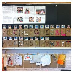 "'Beautiful Stuff' Alphabet & Documentation Panel ("",)"