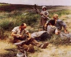 Leon Augustin L'hermitte) The Haymakers hand painted oil painting reproduction on canvas by artist Painter, Rural Scenes, Painting, Lds Art, Paintings I Love, Painting Reproductions, Naturalist, French Artists, Cool Drawings