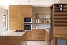 Bamboo kitchen | from Panda Bamboo