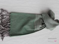 unisex handmade cotton scarf