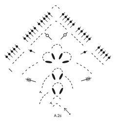 See You Soon - Chal a ganchillo con patrón de calados, trabajado de arriba abajo en DROPS Cotton Merino. - Free pattern by DROPS Design