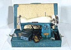 Vintage Visetti Precision Built Sewing Machine
