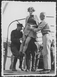 Proceso Stuthhof. Ejecucion de Elisabeth Becker. 1946.-