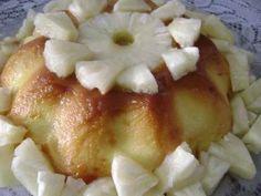 Receita de Flan refrescante de abacaxi - Tudo Gostoso