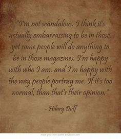 7 Quotes by Hilary Duff That Teach Great Life Lessons ... | All Women Stalk