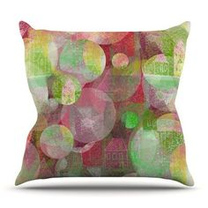 KESS InHouse Dream Place by Marianna Tankelevich Outdoor Throw Pillow