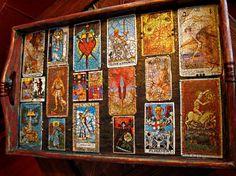 Gypsy Vintage Tarot Tray