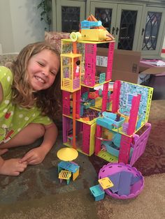 Annabella (age received Alice's Mansion for Christmas and created this mansion! Mansion, Alice, Make It Yourself, Create, Toys, Happy, Christmas, How To Make, Home Decor