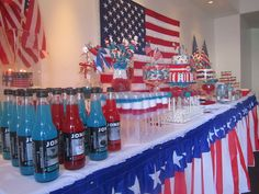 Patriotic 4th of July Party Ideas | Photo 2 of 11 | Catch My Party