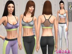 .:87 - Sports set:.  Found in TSR Category 'Sims 4 Female Clothing Sets'