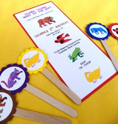 Brown Bear Brown Bear Invite and Favors