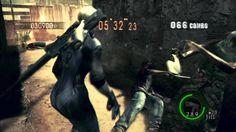 Resident Evil 5 Mercenaries Solo Public Assembly - 672,977 (Jill Battle ...