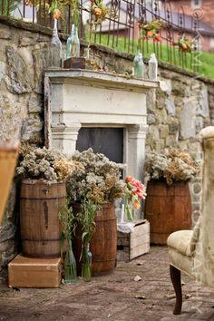 918 - Botti per #arredamento #giardino, #ville #signorili, #case di #campagna e #allestimenti da #cerimonie