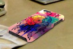 dream cathcer watercolor 3D iPhone Cases for iPhone by TREEDECASE, $16.00
