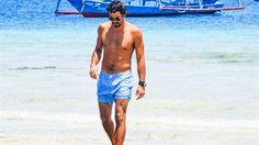 El traje de baño argentino que hace furor en EE.UU.  El largo del bermuda masculino, un tema de discusión en el verano de la Costa Este norteamericana.