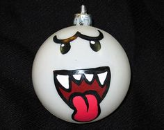 Super Mario Bros Boo Christmas Ornament - Boo Ghost Christmas Decoration