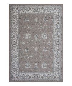 This Sand & Oatmeal Tabriz Rug by KAS Rugs is perfect! #zulilyfinds