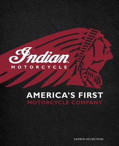 Buy Indian Motorcycle(R) by Darwin Holmstrom at Mighty Ape NZ. Indian Motorcycle(R): America's First Motorcycle Company(tm) tells the complete story of Indian, America's first mass-produced motorcycle maker, from . Motorcycle Wedding, Motorcycle Companies, Motorcycle Posters, Bobber Motorcycle, Motorcycle Quotes, Motorcycle Garage, Motorcycle Style, Motorcycle Travel, Vintage Indian Motorcycles