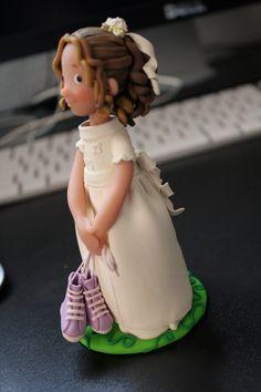 Prima comunione torta topper fatto di ordinare di nathalieortega