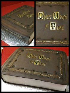 Once upon a time cake for my birthday yes please and thank you!