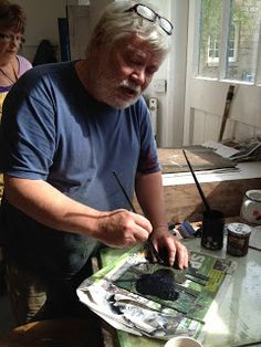 Peter Wray Proper inking up of Collagraph printing plates is an art form in itself Collagraph Printmaking, Calligraphy Art, Surface Pattern, Printing Plates, Textile Design, Art Forms, Print Patterns, Art Prints, Studios