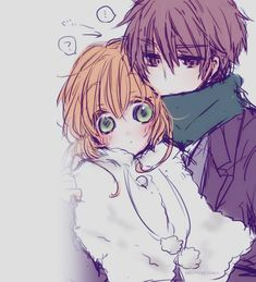 #anime couple kawaii